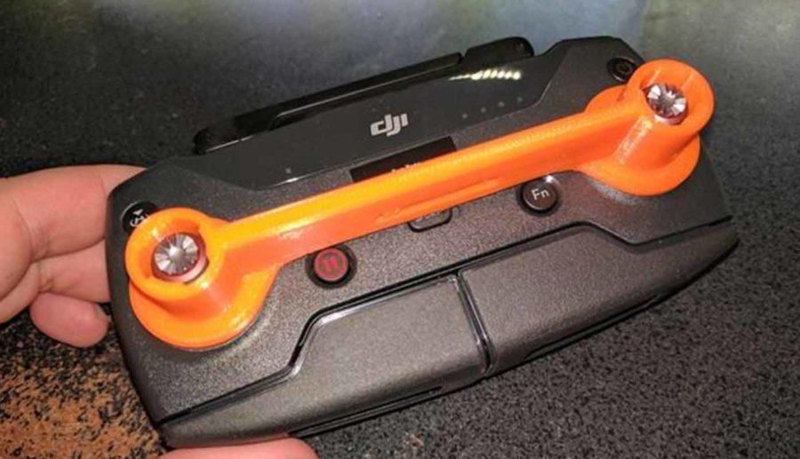 DJI Spark Remote Stick Guard (Bildquelle: skyguy76/thingiverse)