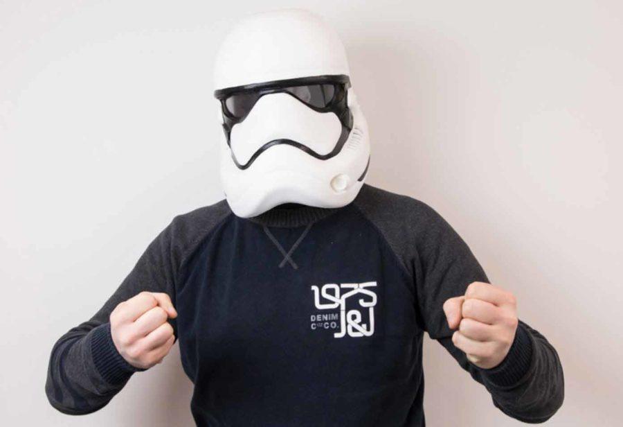Stormtrooper Maske aus Star Wars VII (Bildquelle: lloyd roberts/myminifactory)