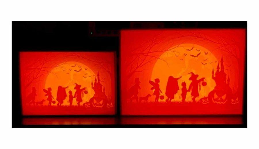 Halloween Lithophane