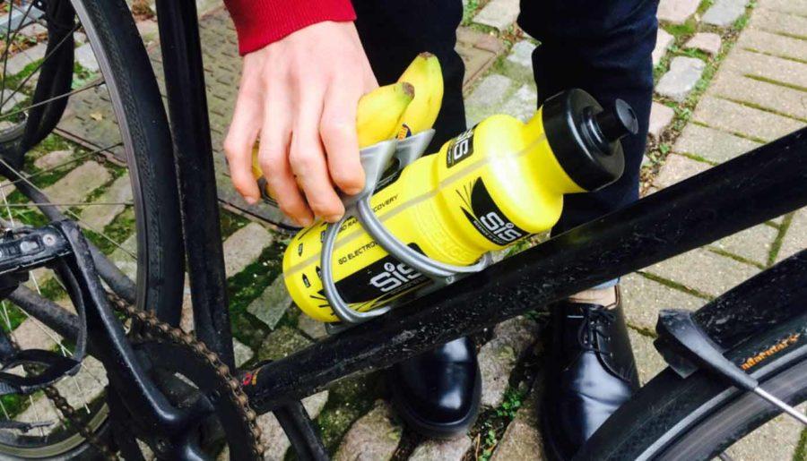 """Wasser- und Bananenhalter für Radfahrer """"NanaBotCage™"""" (Bildquelle: franco falco/myminifactory)"""