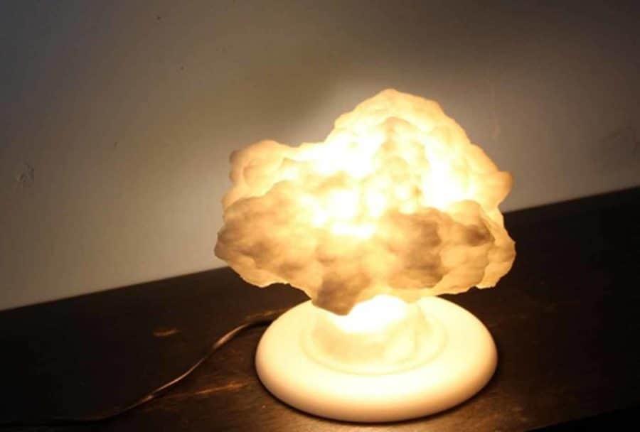 Atompilz-Lampe (Bildquelle: protonik/thingiverse)