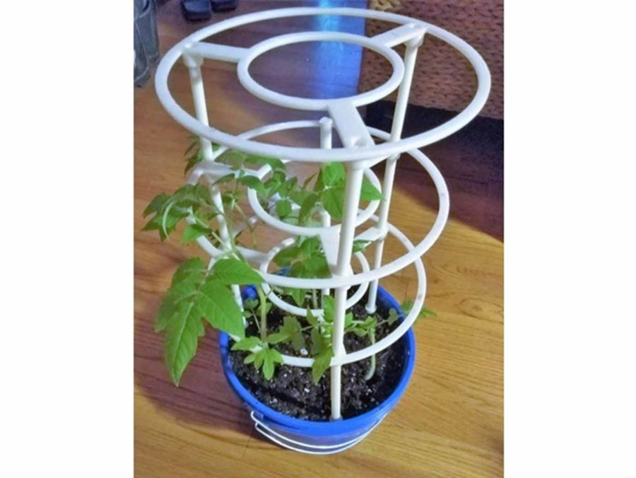 Pflanzenstütze aus dem 3D Drucker (Bildquelle: sasha/thingiverse)