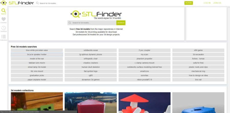 stfl finder 3D Druck Ideen