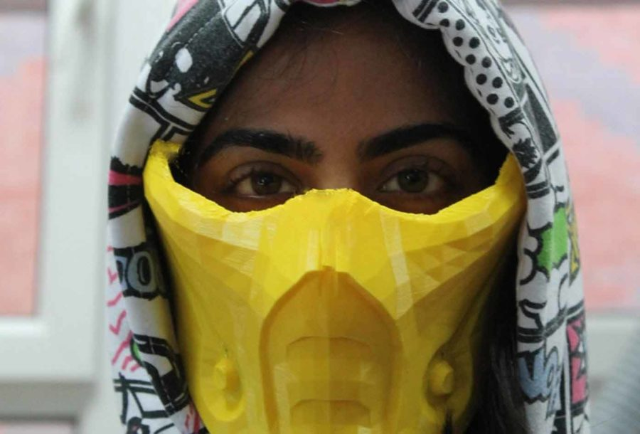 Sub Zero Maske aus Mortal Kombat (Bildquelle: benjamin white/myminifactory)
