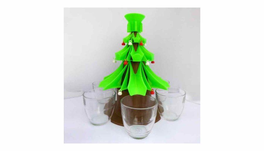 Getränkespender Weihnachtsbaum