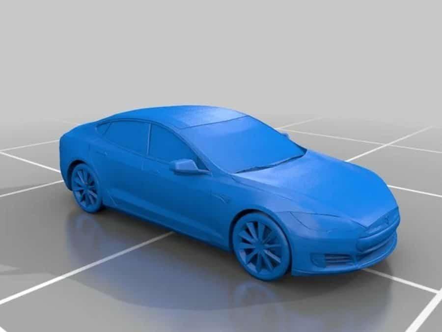 Tesla Model S 3D Modell