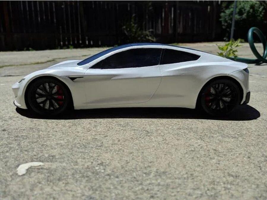 Tesla Roadster 3D Druck Modell