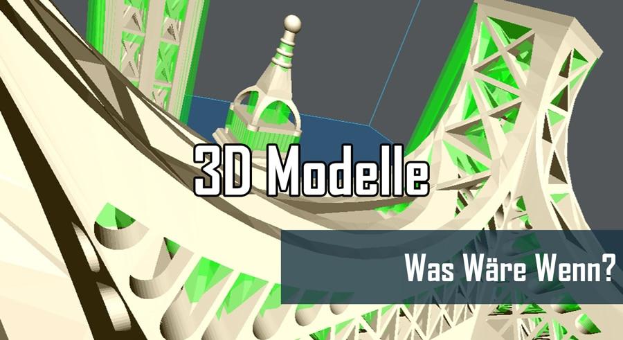 Was Wäre Wenn? 3D Drucken in Originalgröße